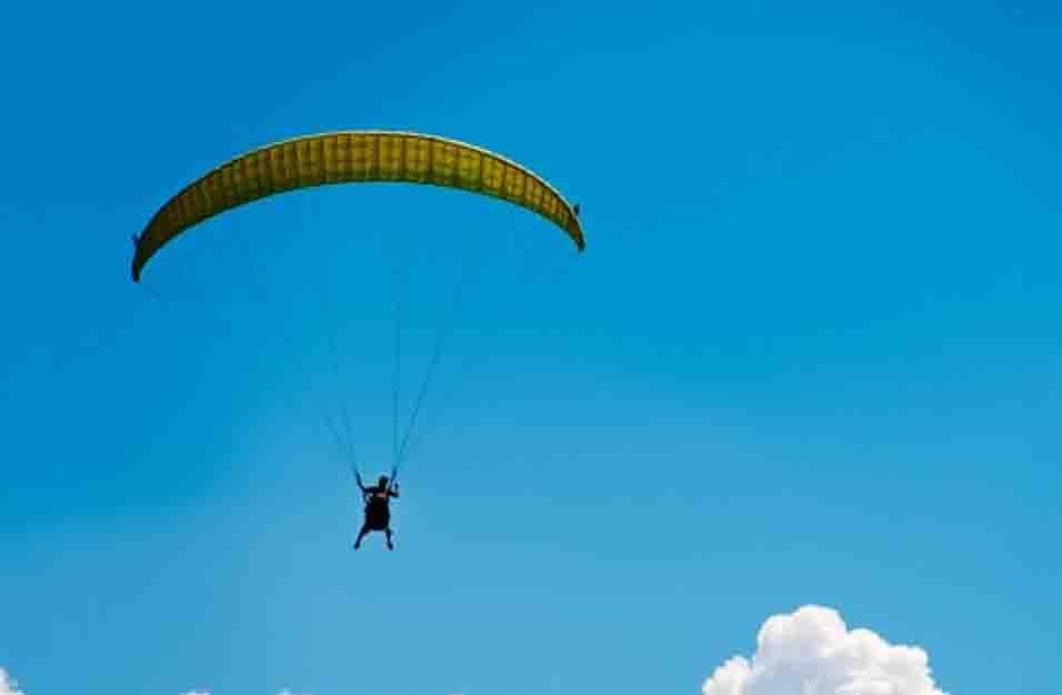 Gambar Olahraga Paragliding