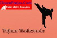 Tujuan Mengikuti Taekwondo